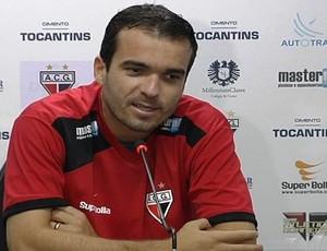 paulo henrique, zagueiro do atlético-go (Foto: Reprodução/TV Anhanguera)