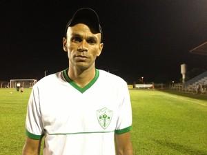 Técnico do Guaraí, Wicelmo Alves (Foto: Vilma Nascimento/GloboEsporte.com)