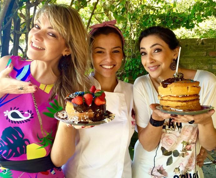 Naked Cake Mistura com Rodaika Cris Silva Misses Cake Patricia (Foto: Arquivo Pessoal)