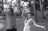Scheila Carvalho e Jacaré 'ralam o Tchan' nos bastidores do 'Estrelas'