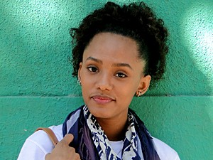 Amigos dizem que ela se parece com Thaís Araújo (Foto: Malhação / TV Globo)