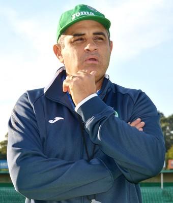 Marcelo Chamusca técnico Guarani (Foto: Murilo Borges)