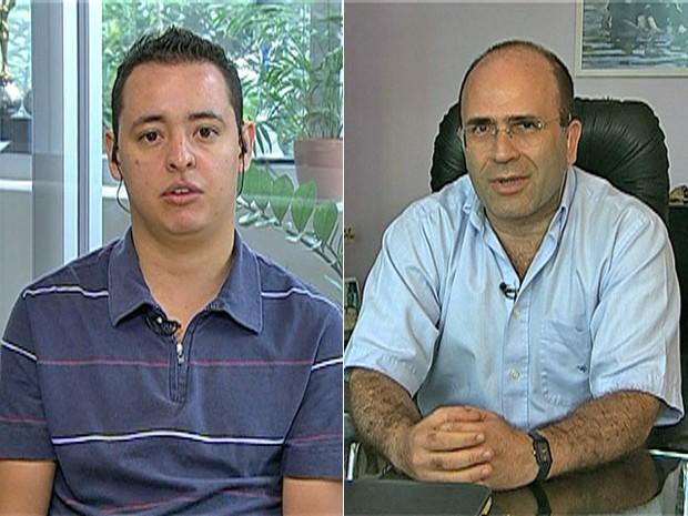 Anjo da guarda de David e médico conversam com Ana Maria (Foto: Mais Você / TV Globo)