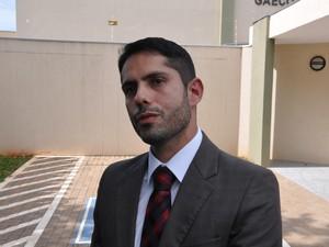 Coordenador do Gaeco em MS, promotor Marcos Alex Vera de Oliveira (Foto: Adriel Mattos/G1 MS)