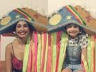 Camila Pitanga posa com a filha e mostra semelhança em clique na web