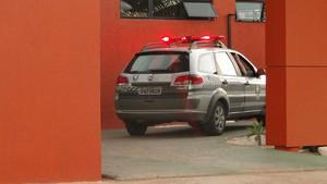 Idoso morreu em motel na Avenida Omar O'Grady, em Natal (Foto: Ricardo Araújo/G1)