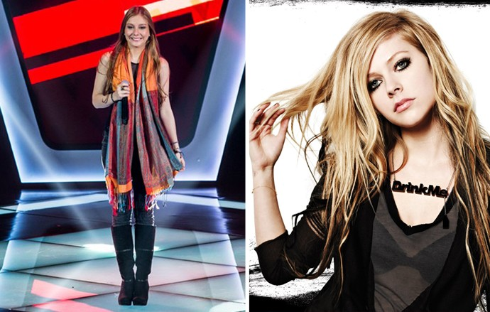 Bella Schneider até engana de Avril Lavigne em certas fases, né? (Foto: Isabella Pinheiro/Reprodução)