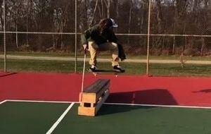 Cegueira não impede Dan Mancina de dar show no skate; veja o vídeo