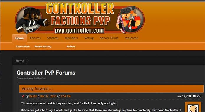 Controller PvP é server focado em guerras (Foto: Reprodução/Felipe Vinha)