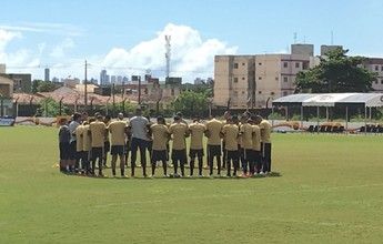 Botafogo-PB encerra preparação para a estreia na Série C, contra o Salgueiro