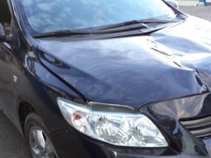Motorista fez teste do bafômetro, que deu negativo (Foto: Polícia Militar/Divulgação)