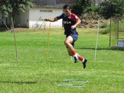 Meia Lucas Sotero Paraná Clube (Foto: Fernando Freire)