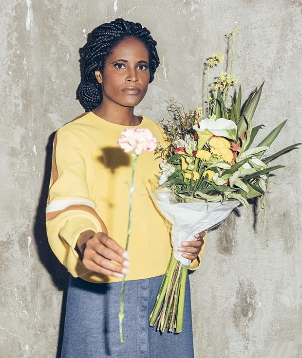 Djamila (Foto: Revista Gol)