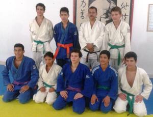 Equipe de judocas da Fejur que vai representar Roraima no Campeonato Brasileiro (Foto: Divulgação)