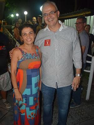 Girlene Silva e Marcus David UFJF (Foto: Assessoria Sintufejuf/ Divulgação)