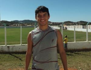 Renatinho, meia do Internacional-PB (Foto: Hévilla Wanderley / GloboEsporte.com/pb)