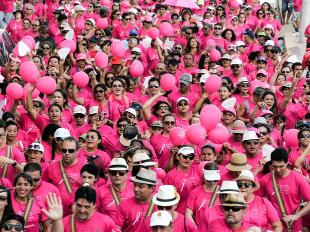 ICC realizou a primeira edição do Passeio Rosa em 2015; para este ano, expectativa é reunir mais de 3 mil participantes (Foto: Divulgação/ICC)