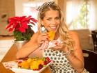 Karina Bacchi ensina receitas saudáveis para a ceia de Ano Novo