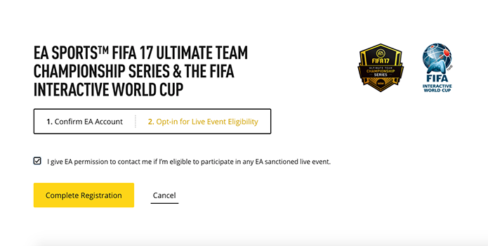 Confirme seus dados do Fifa 17 (Foto: Reprodução/Murilo Molina)