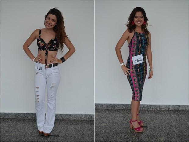 Michelly Paixão Passos - MA e Chel Barbosa De Carvalho - BA (Foto: Gloria Moreira / Concurso Beleza Nordestina / Divulgação)