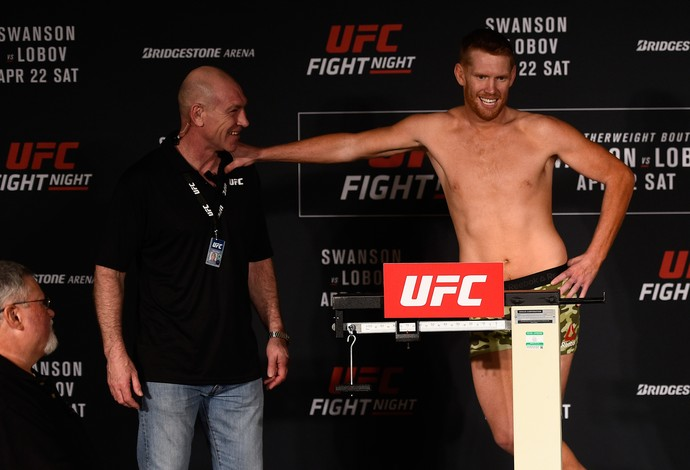 Sam Alvey, pesagem, UFC Nashville (Foto: Getty Images)