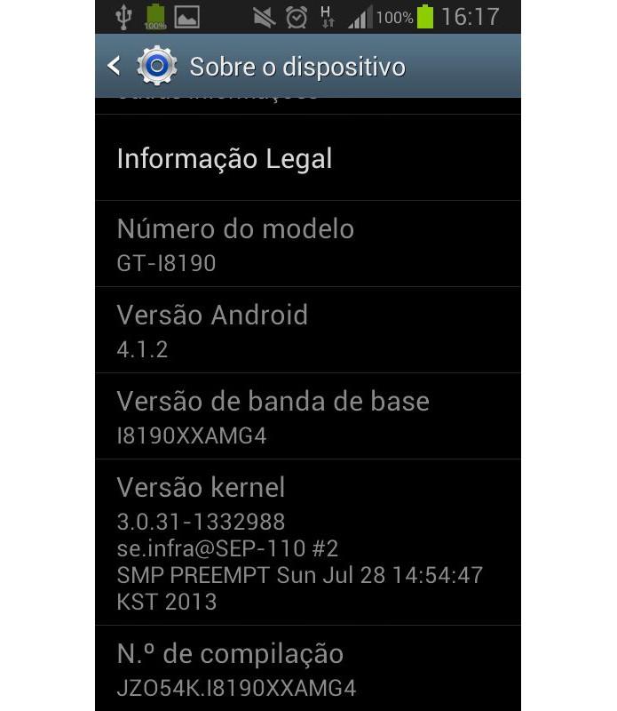 Verifique se os números do seu aparelho conferem com o original (Foto: Reprodução/Paulo Alves) (Foto: Verifique se os números do seu aparelho conferem com o original (Foto: Reprodução/Paulo Alves))