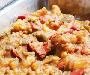 Receita de legumes ao curry com arroz de coco