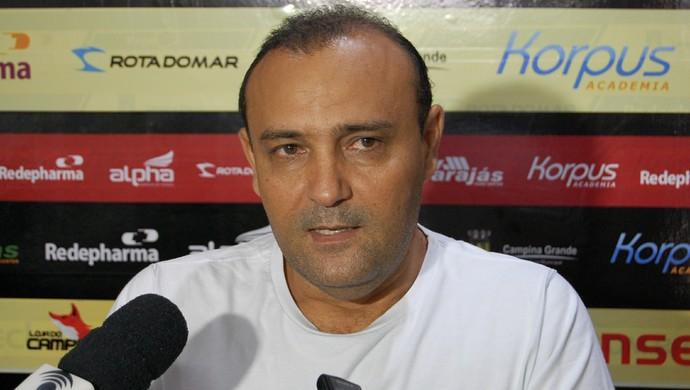 William Simões, presidente do Campinense, Paraíba, Campina Grande (Foto: Silas Batista / GloboEsporte.com/pb)