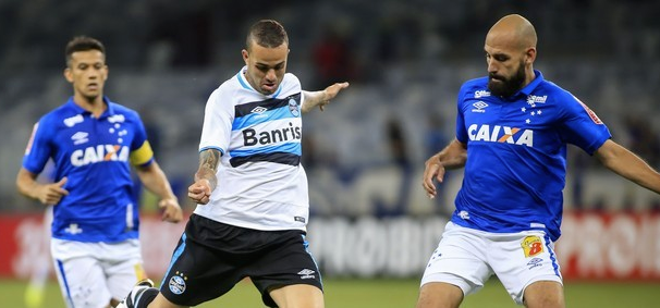 Grêmio e Cruzeiro voltam a se enfrentar nesta quarta no Arena Grêmio (Foto: Reprodução GE)