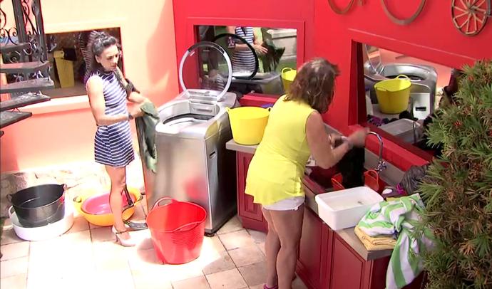 Marinalva conversa com Ieda (Foto: TV Globo)