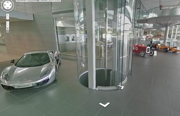 Fábrica da McLaren, em Woking, Inglaterra (Foto: Divulgação)