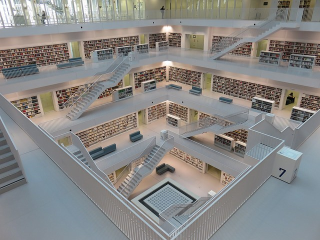 Biblioteca municipal de Stuttgart  (Foto: Flickr/Dage - Looking For Europe)