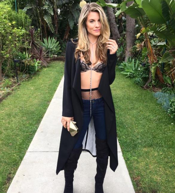 Rachel McCord em foto publicada em seu Instagram (Foto: Reprodução)