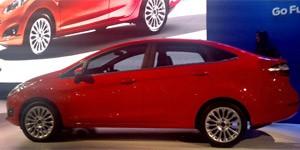 Ford New Fiesta reestilizado (Foto: Louise Calandrino/G1)
