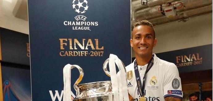 Danilo Real Madrid lateral (Foto: Reprodução/Instagram)