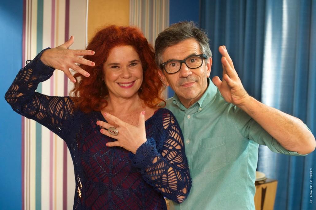 Sandra Peres e Paulo Tatit do Palavra Cantada (Foto: Divulgação)