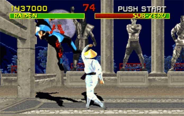 Mortal Kombat no Mega não tinha censura (Foto: Reprodução/RetroBits)