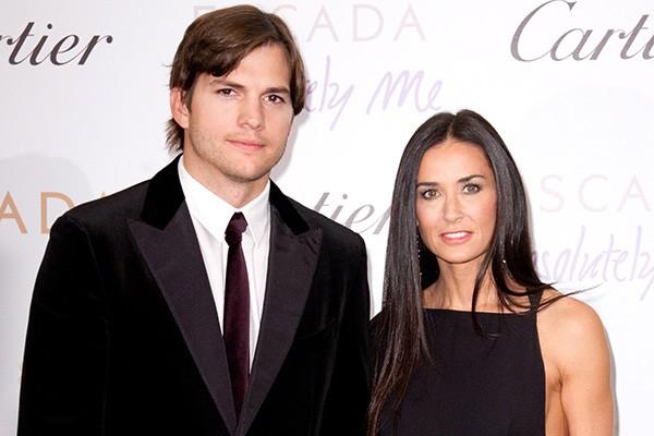 Como não lembrar do casal dos casais? Demi Moore é 15 anos mais velha que Ashton Kutcher e os dois foram casados por seis anos. (Foto: Getty Images)