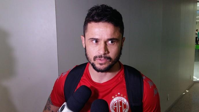 Zé Antônio Paulista América-RN (Foto: Jocaff Souza/GloboEsporte.com)