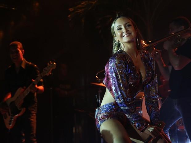 Claudia Leitte em show em Fortaleza, no Ceará (Foto: Francisco Cepeda e Denilson Santos/ Ag. News)