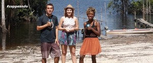 'Zapp' retorna à TV com passeio de caiaque, nado com botos e visita a tribo indígena;  sábado (27) (Zappeando)