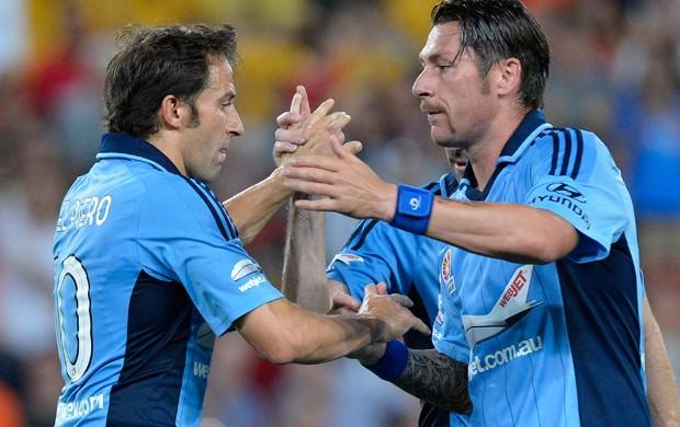 Del Piero marca em derrota do Sydney FC (Foto: Divulgação / Site oficial Sydney FC)