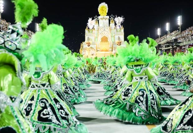 Carnaval 2017 – Desfile das Campeãs na Sapucaí – Mocidade Independente de Padre Miguel (Foto: Tata Barreto/Riotur)