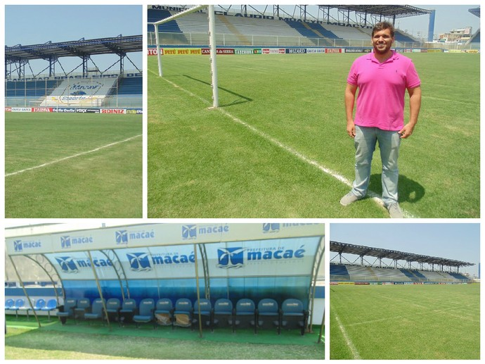 Administrador do Moacyrzão, Thales espera receber os grandes em 2016 (Foto: Gustavo Garcia/GloboEsporte.com)