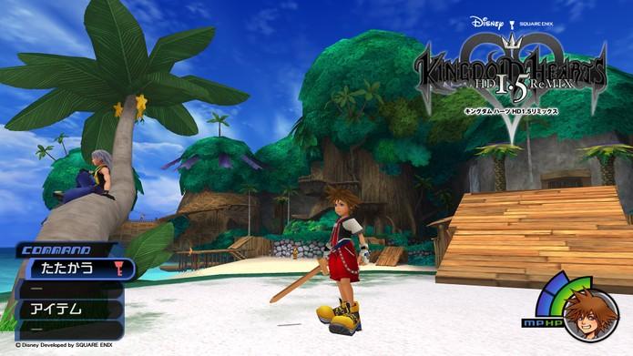 Kingdom Hearts HD 1.5 (Foto: Divulgação/Square Enix)