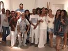 Ivete Sangalo curte festa com o marido, Daniela Mercury e mais