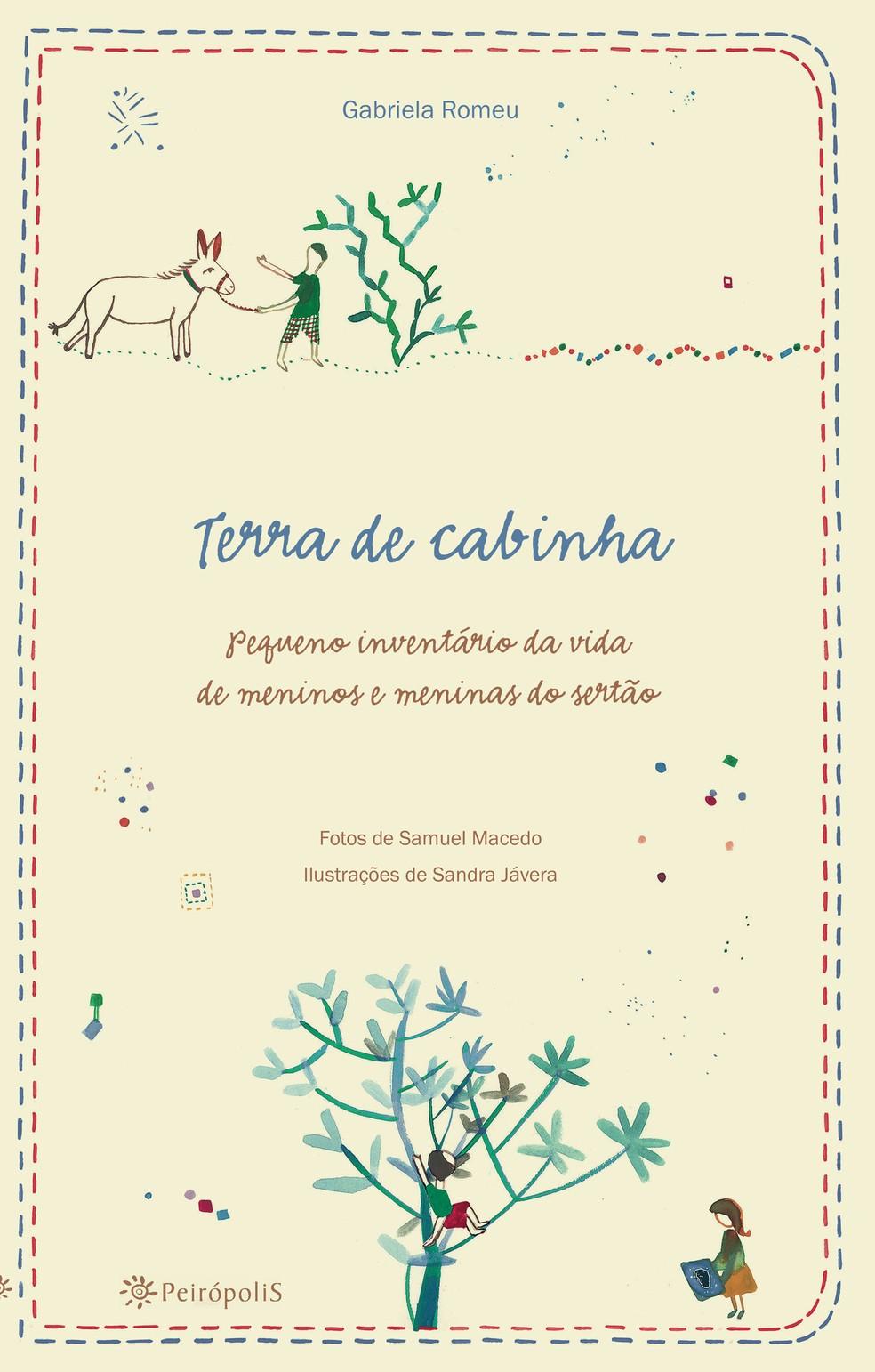 Terra de Cabinha, capa do livro de Gabriela Romeu (Foto: Divulgação)
