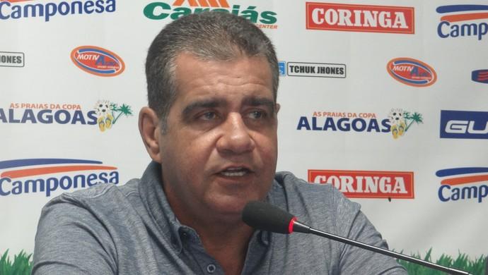 Raimundo Tavares, conselheiro do CSA (Foto: Paulo Victor Malta/GLOBOESPORTE.COM)
