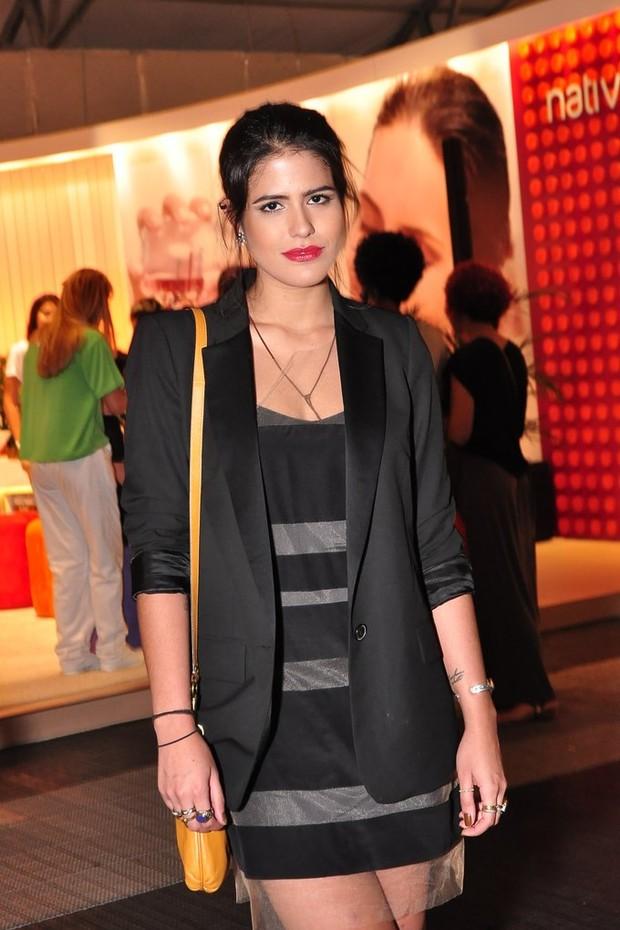 Antonia Morais no Fashion RIo (Foto: Roberto Teixeira / EGO)