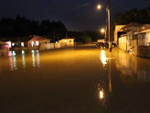 Papanduva decretou emergência após temporal que caiu no município (Foto: Divulgação)